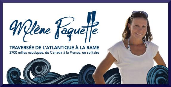 Mylène Paquette: Traversée de l'Atlantique à la rame